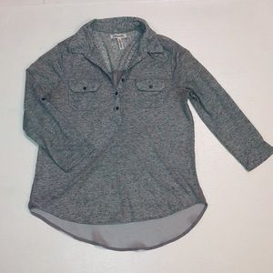 Women's Aeropostale grey long sleeve